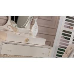 Комод - туалетный столик + зеркало Седеф SEDF-23/24