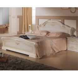 Двуспальная кровать Ирина (беж)