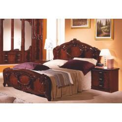 Двуспальная кровать Ольга (могано)