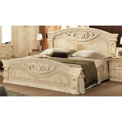 Двуспальная кровать Рома (беж)