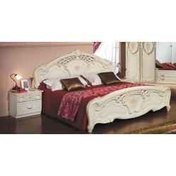Двуспальная кровать Роза (беж)