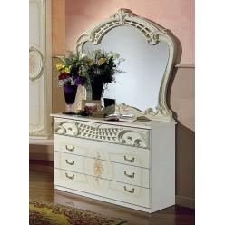 Комод с зеркалом в спальню Роза (беж)