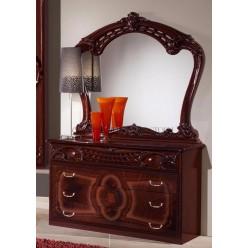 Комод с зеркалом в спальню Роза (могано)