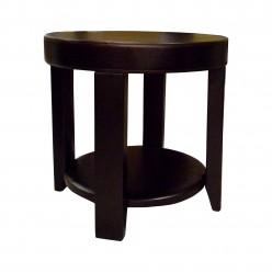 Столик кофейный Комфорт № 21 круглый из дерева