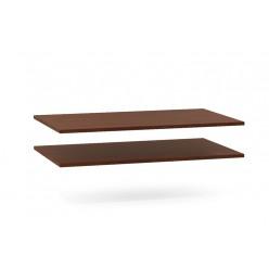 Комплект полок для шкафа Луара ЛУ-011.00 (2 шт.)