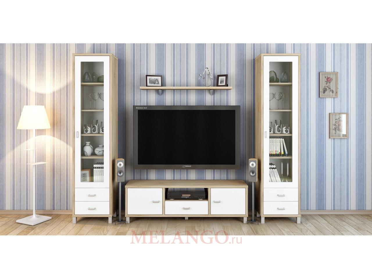 Модульная мебель для гостиной Домино Сонома композиция 2