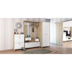 Мебель для прихожей Домино Сонома от Мебель-Неман композиция 4