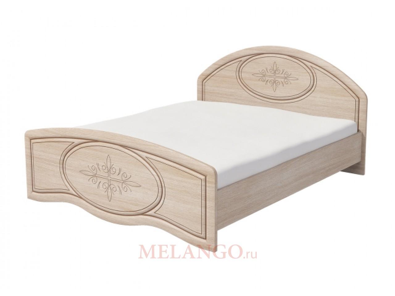 Двуспальная кровать Василиса К2-160