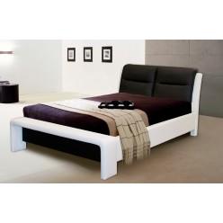 Двуспальная кровать с мягким изголовьем Ларио