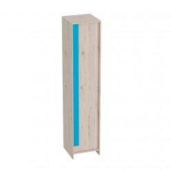 Одностворчатый детский шкаф для одежды и белья Скаут