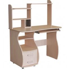 Стол компьютерный с надстройкой и ящиками СК-06