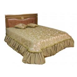 Двуспальная кровать Лика ММ-137-02/Б (медовый дуб) без изножья