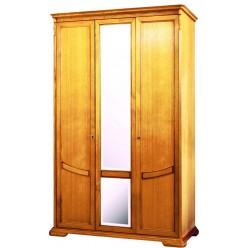 Шкаф для одежды Лика ММ-137-01/03 (медовый дуб)