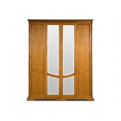 Шкаф для одежды Лика ММ-137-01/04 (медовый дуб)