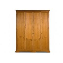 Шкаф для одежды Лика ММ-137-01/04Б (медовый дуб)