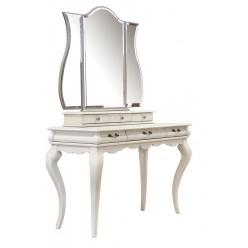 Стол туалетный Оскар ММ-216-06 (белая эмаль)