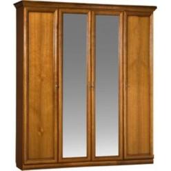 Шкаф для одежды Нинель ММ-167-01/04 (табак)
