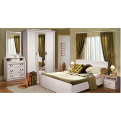 Спальня Нинель (белая эмаль)