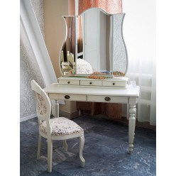 Стол туалетный Лика ММ-137-06 (белая эмаль)