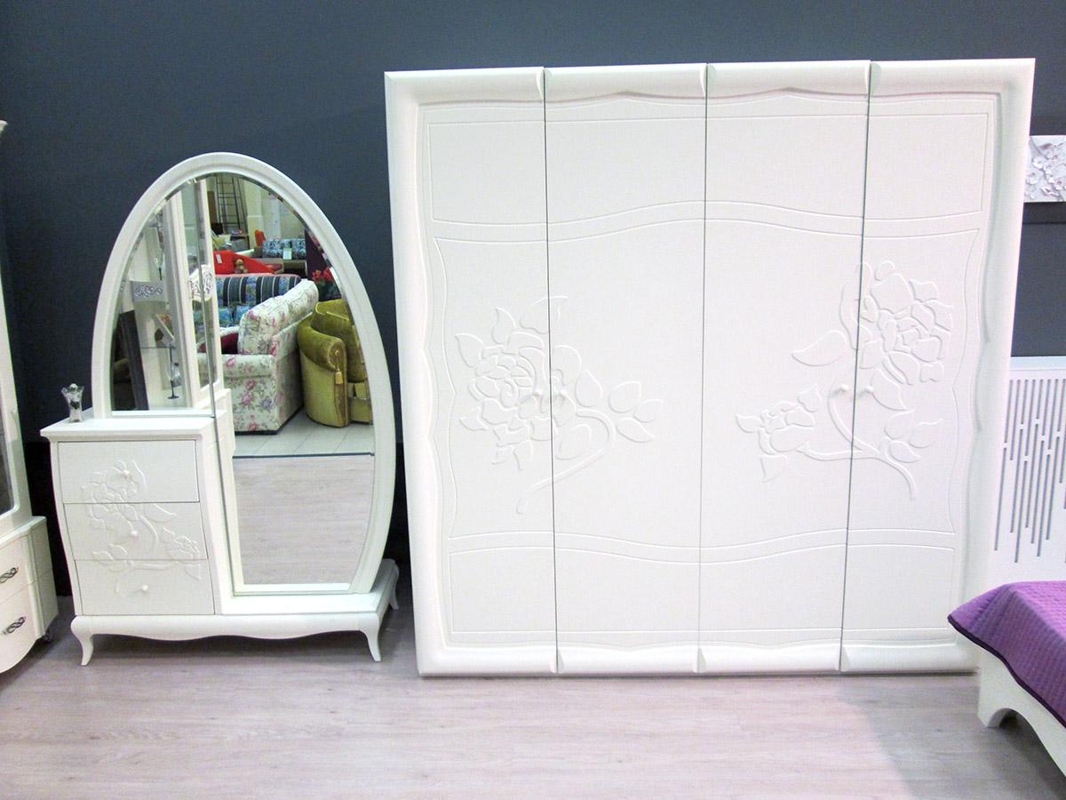 Спальня Астория в магазине - 2 шкафа