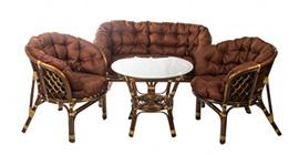 Комплекты мебели из ротанга