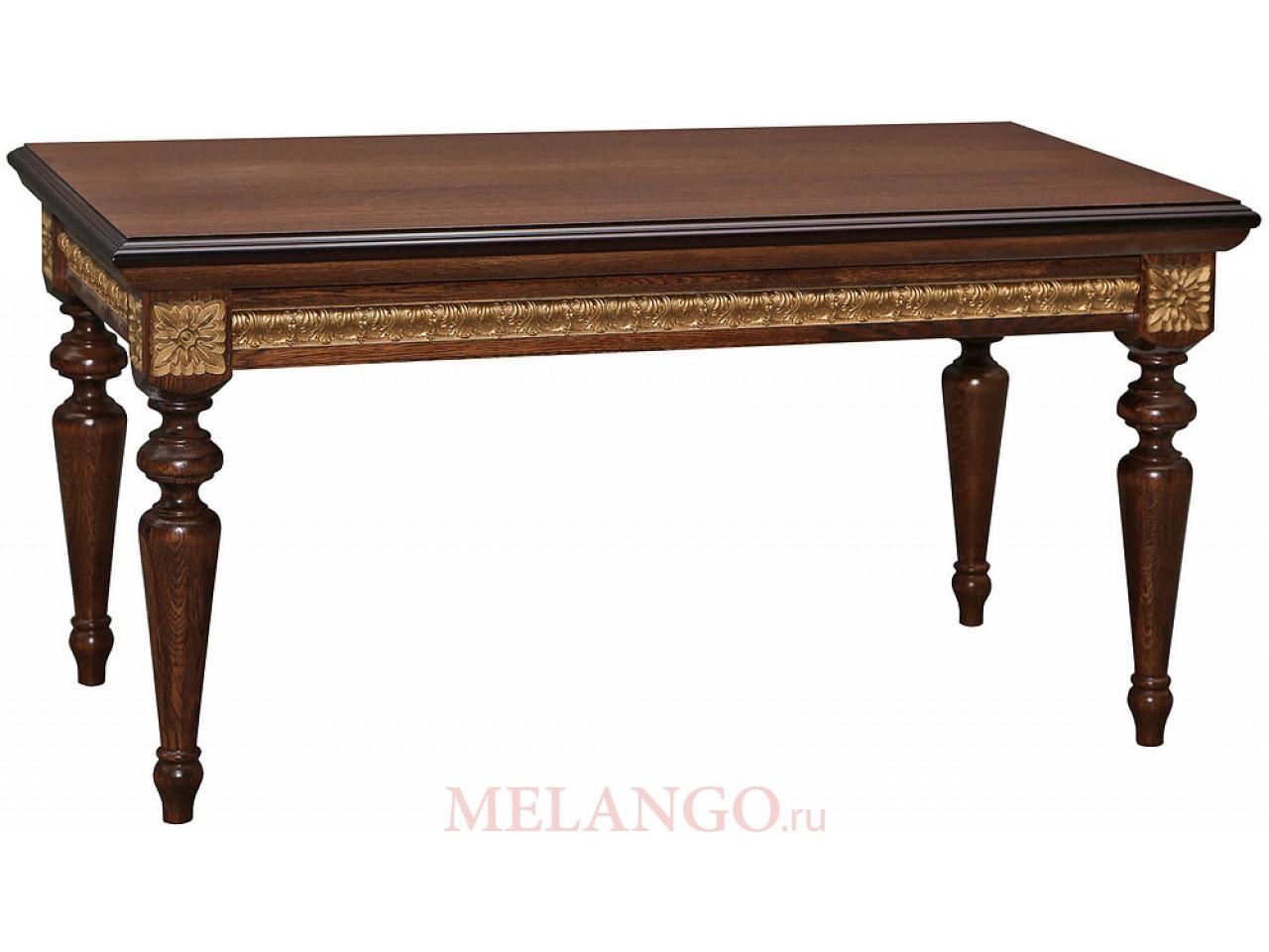 Журнальный столик «Милана 03» П299.03 (черешня с золочением)
