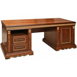 Письменный стол «Милана 1П» П396.01 черешня с золочением