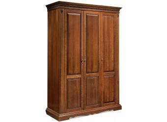 Шкаф для одежды «Милана 01/1» П294.18 (черешня)