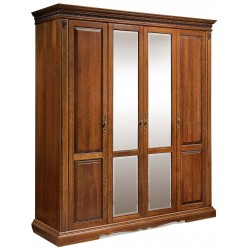 Шкаф для одежды «Милана 02» П294.02 (черешня)