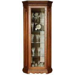 Шкаф-витрина для гостиной «Милана 10» П265.10-01 (черешня)