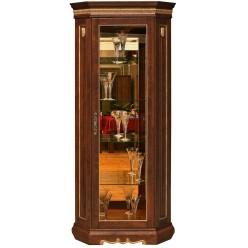 Шкаф-витрина для гостиной «Милана 10» П265.10 (черешня с золочением)