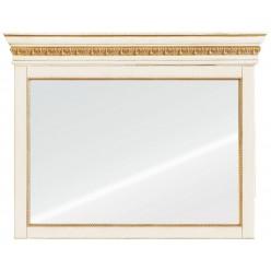Зеркало настенное «Милана 9» П265.09 (слоновая кость с золочением)
