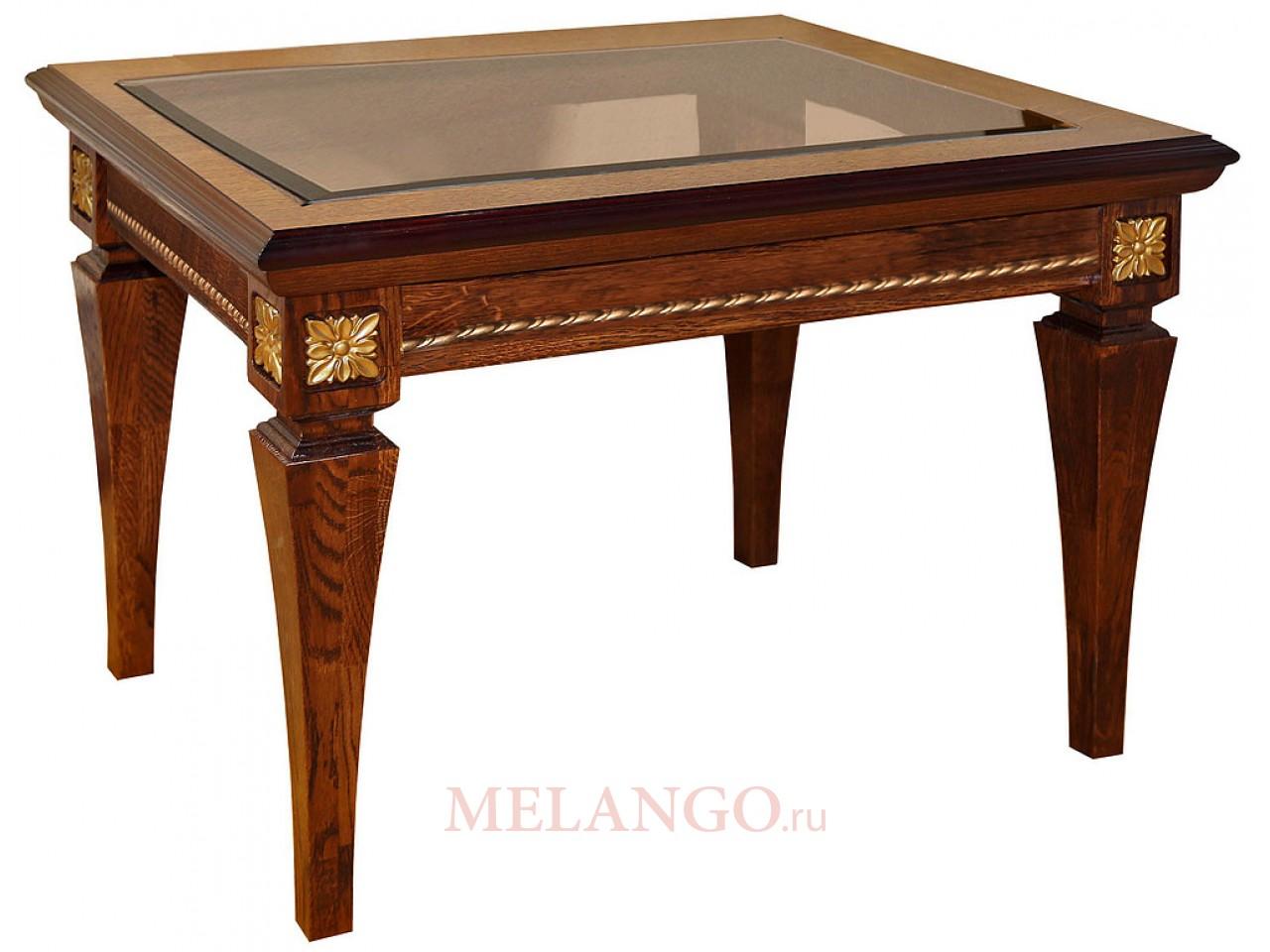 Журнальный стол «Милана 05» П366.05 (черешня с золочением)