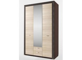 Трехстворчатый шкаф для одежды с зеркалом Денвер 3D2S Z