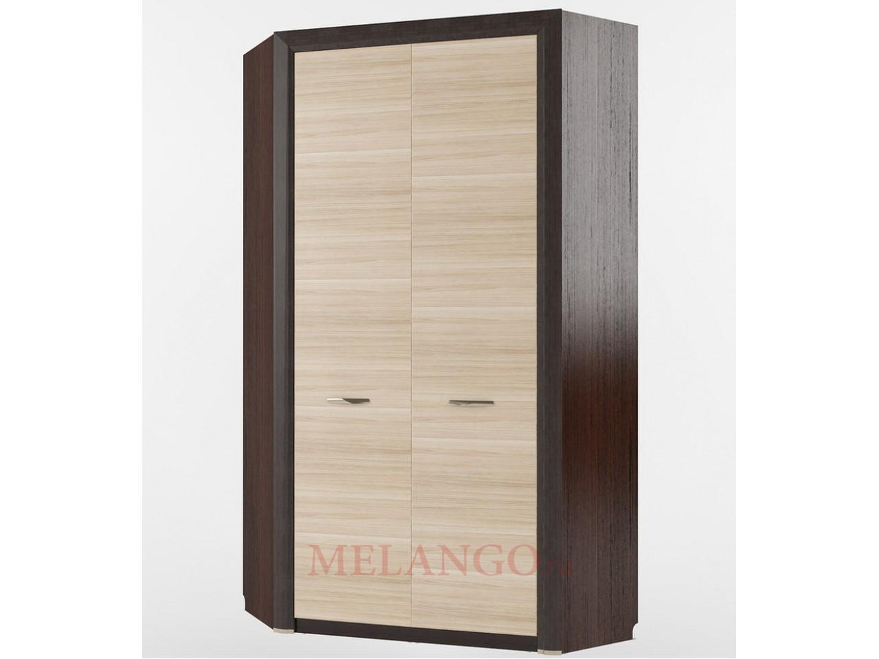 Угловой шкаф для одежды Денвер 2D