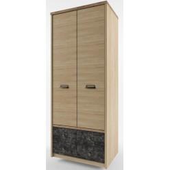 Двухстворчатый шкаф для одежды Дизель 2DG2S/D3 истамбул