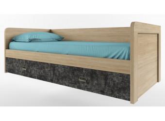 Односпальная кровать Дизель 90-2/D3 истамбул с выдвижными ящиками