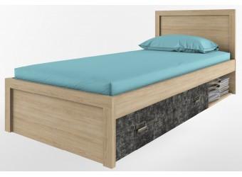 Односпальная кровать Дизель 90/D3 истамбул с выдвижным ящиком