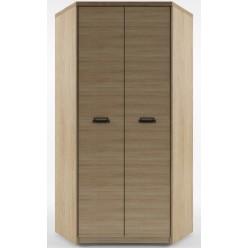 Угловой шкаф для одежды Дизель 2D