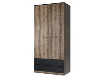 Двухстворчатый шкаф для одежды Джаггер 2DG2S