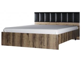 Двуспальная кровать Джаггер 160М с мягкой спинкой