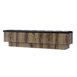 Приставная скамья Джаггер 160 (для кровати 160М с подъемником)