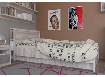 Двуспальная кровать Джаз 140 P с полками