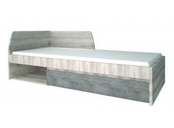 Односпальная кровать Джаз 90 оникс с выдвижным ящиком