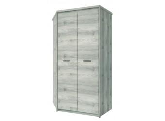 Угловой шкаф для одежды Джаз 2D