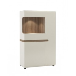 Шкаф-витрина для посуды Линате 3D-1S/TYP 32