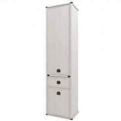 Шкаф-пенал для одежды Магеллан 2D1S сосна винтаж