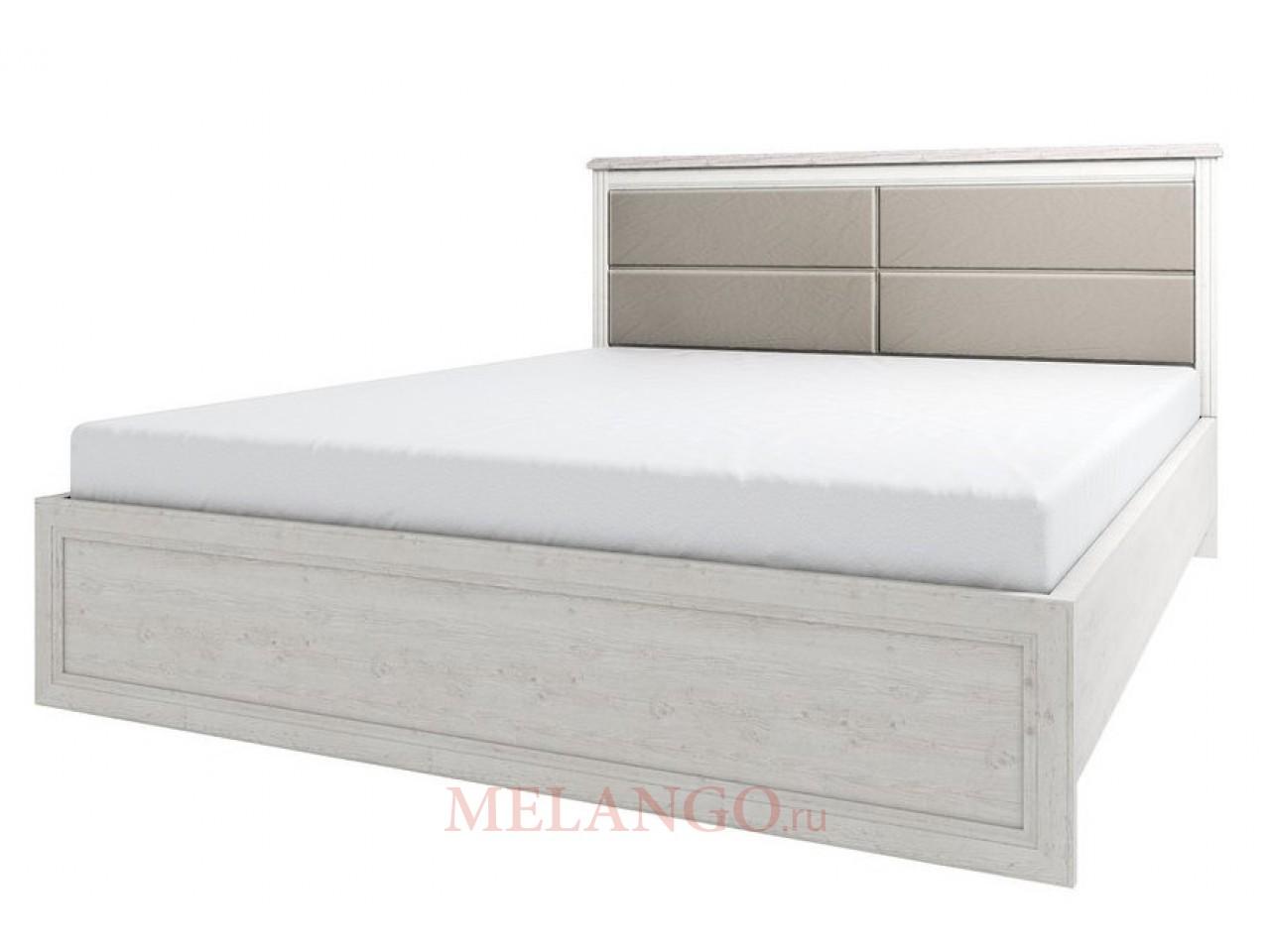 Двуспальная кровать Монако 160М с мягкой спинкой