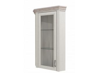 Угловой шкаф-витрина для посуды Монако 1VU