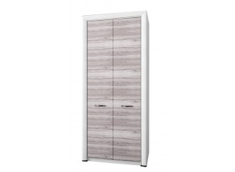 Двухстворчатый шкаф для одежды Оливия 2DG